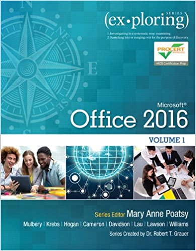 Exploring Microsoft Office 2016 Volume 1 (Exploring for Office 2016 Series) - Original PDF