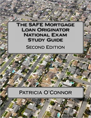The SAFE Mortgage Loan Originator National Exam Study Guide: Second Edition (2nd Edition) - Epub + Converted pdf