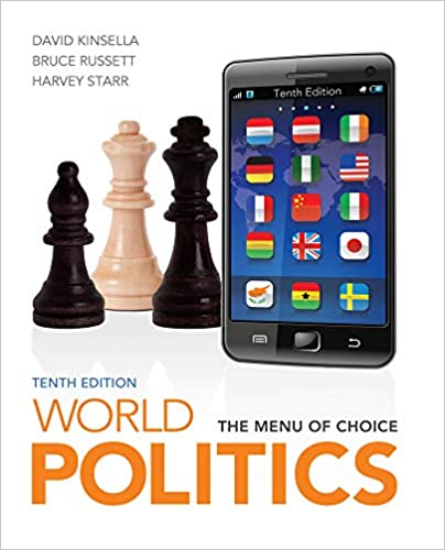 World Politics: The Menu for Choice (10th Edition) - Original PDF