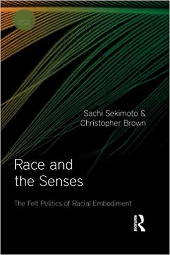 Race and the Senses The Felt Politics of Racial Embodiment (Sensory Studies) [2020] - Original PDF