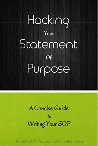 Hacking Your Statement of Purpose: A Concise Guide to Writing Your SOP - Epub + Converted pdf