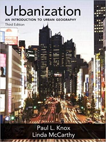 Urbanization: An Introduction to Urban Geography (3rd Edition) - Original PDF