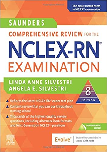 Saunders Comprehensive Review for the NCLEX-RN Examination (8th Edition) - Epub + Converted pdf