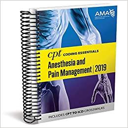 CPT® Coding Essentials for Anesthesia & Pain Management 2019 - Original PDF