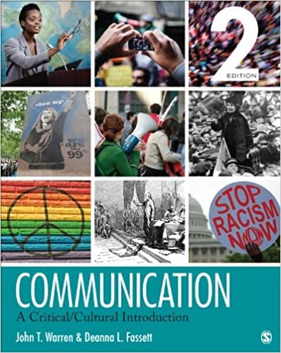 Communication: A Critical/Cultural Introduction (2nd Edition) - Epub + Converted pdf