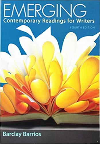 Emerging: Contemporary Readings for Writers (4th Edition) - Epub + Converted pdf