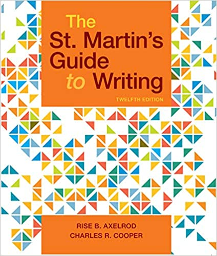The St. Martin's Guide to Writing (12th Edition) - Epub + Converted pdf