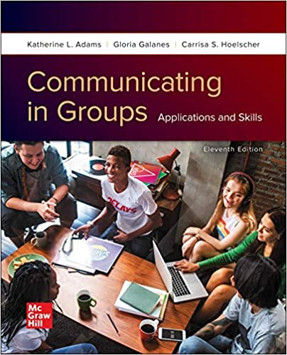 Communicating in Groups: Applications and Skills (11th Edition) - Original PDF
