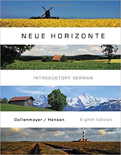 Neue Horizonte (World Languages) 8th Edition - Original PDF