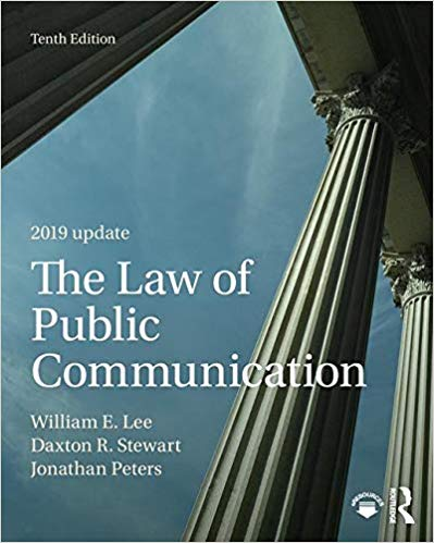 The Law of Public Communication 2019 Update (10th Edition)  - Original PDF