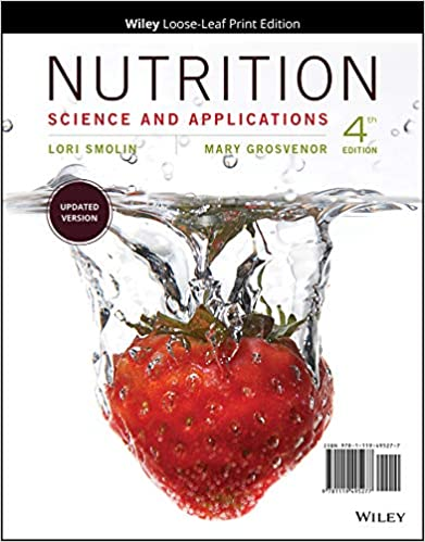 Nutrition Science and Applications (4th Edition)[2019] - Original PDF