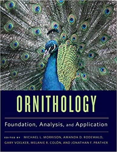 Ornithology Foundation, Analysis, and Application  - Epub + Converted pdf