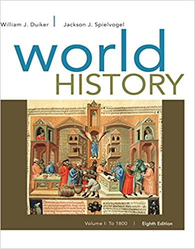 World History, Volume I: To 1800 (8th Edition) - Original PDF