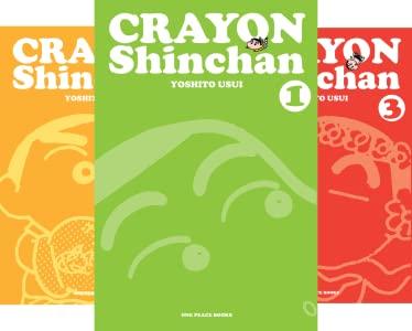Crayon Shinchan (Serie de 4 libros) - Epub + Converted pdf