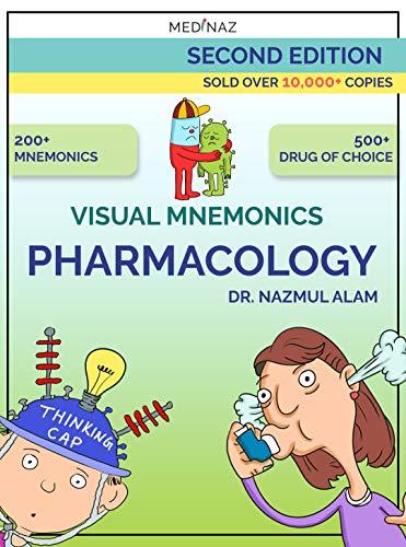 VISUAL MNEMONICS PHARMACOLOGY  (Medical mnemonic) (2nd EDITION) [2019] - Epub + Converted pdf