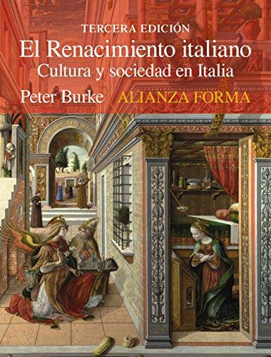 El Renacimiento italiano: Cultura y sociedad en Italia (Alianza forma (AF)) - Epub + Converted pdf