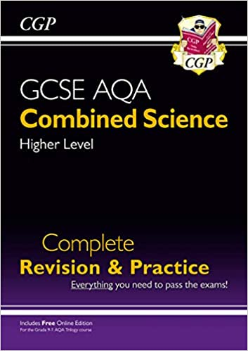 New 9-1 GCSE Combined Science: AQA Higher Complete Revision & Practice (with Online Edition) (CGP GCSE Combined Science 9-1 Revision) - Original PDF