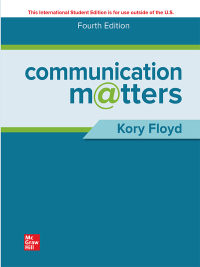 ISE eBook Online Access for Communication Matters (4th Edition) - Original PDF