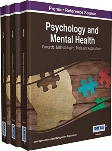 Psychology and Mental Health: Concepts, Methodologies, Tools, and Applications - Original PDF