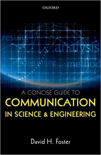A Concise Guide to Communication in Science and Engineering (Concise Edition) - Original PDF