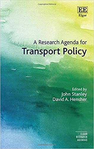 A Research Agenda for Transport Policy (Elgar Research Agendas) [2019] - Original PDF