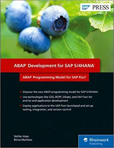 ABAP Development for SAP S/4HANA (SAP PRESS)