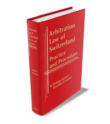 ARBITRATION LAW OF SWITZERLAND: PRACTICE & PROCEDURE - Pdf