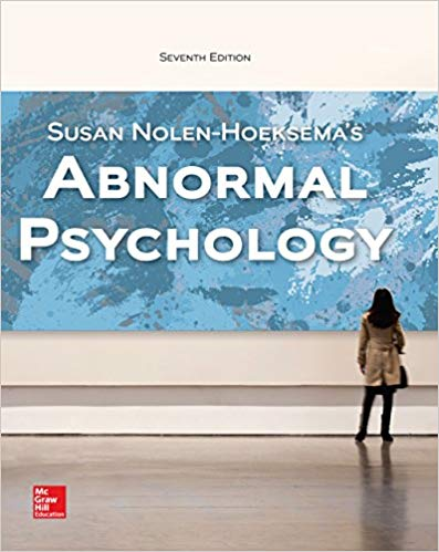 Abnormal Psychology (7th Edition)