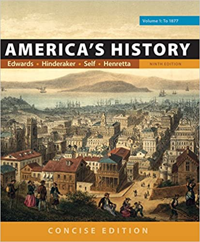 America's History: Concise Edition, Volume 1 (9th Edition) - Epub + Converted pdf