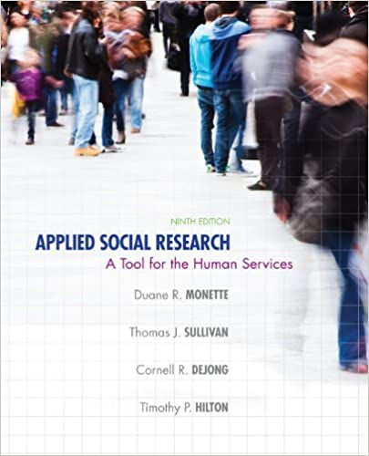 Applied Social Research: A Tool for the Human Services (9th Edition) - Orginal Pdf