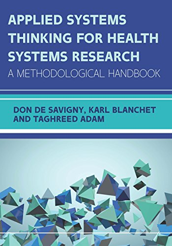 Applied Systems Thinking for Health Systems Research - Epub + Converted pdf