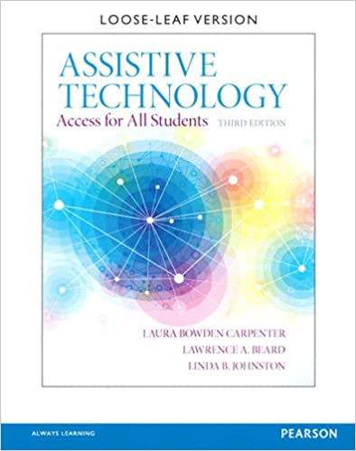 Assistive Technology: Access for All Students (3rd Editio) - Orginal Pdf