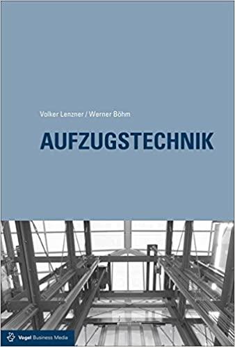 Aufzugstechnik BY  Volker Lenzner  - Orgial pdf