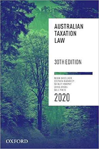 Australian Taxation Law 2020 - Epub + Converted Pdf
