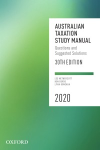 Australian Taxation Study Manual 2020 (30th Edition) - Epub + Converted pdf