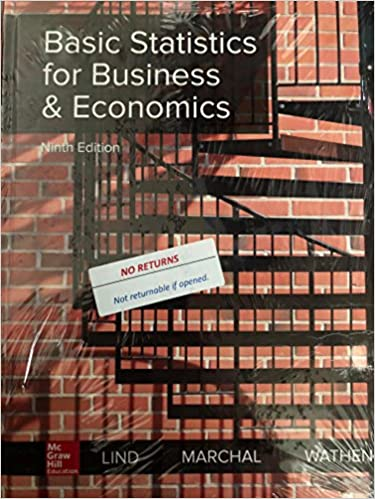 Basic Statistics for Business and Economics (9th Edition)  - Original PDF