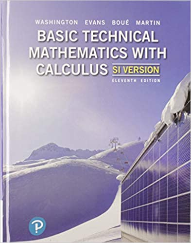Basic Technical Mathematics with Calculus, SI Version (11th Edition)- Original PDF