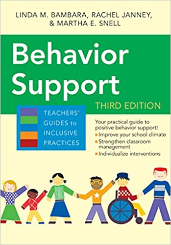 Behavior Support (3rd Edition) BY Bambara - Orginal Pdf