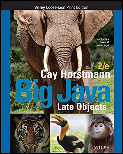 Big Java: Late Objects (2nd Edition)