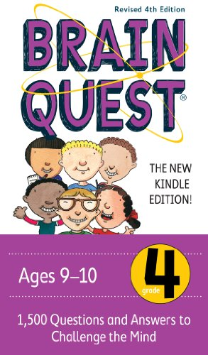 Brain Quest 4th Grade Q&A Cards: 1,500 Questions and Answers to Challenge the Mind. Curriculum-based! Teacher-approved! (Brain Quest Decks) - Epub + Converted pdf