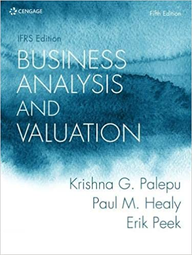 Business Analysis and Valuation: IFRS edition (5th edition) [2020] - Original PDF