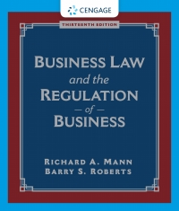 Business Law and the Regulation of Business (13th Edition) - Image pdf with ocr