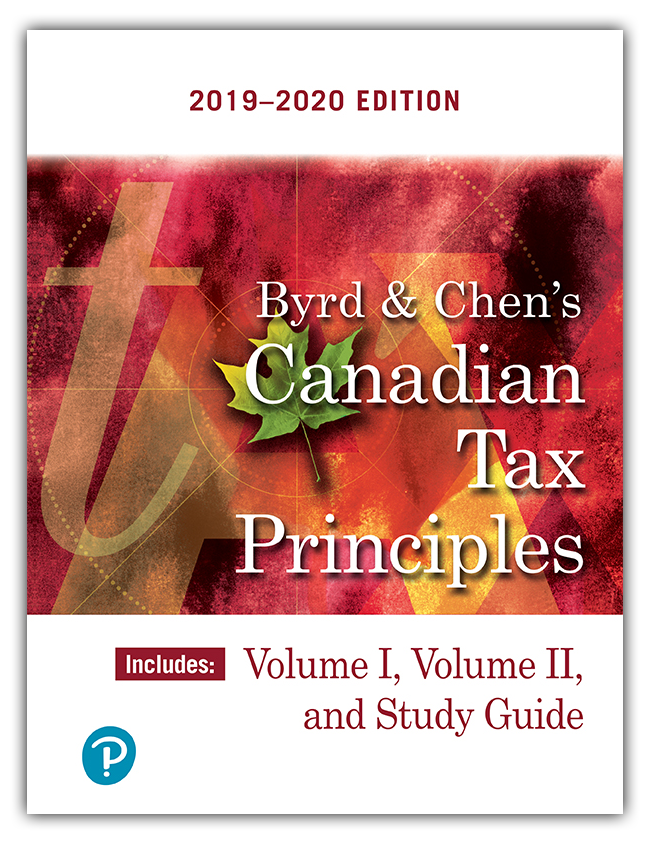 Canadian Tax Principles, 2019-2020 [2019] - Orginal pdf