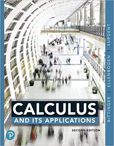 Calculus and Its Applications (2nd Edition) [2019] - Original PDF