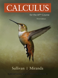 Calculus for the AP® Course (3rd Edition) BY Sullivan And Miranda - Epub + Converted pdf