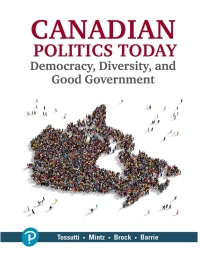 Canadian Politics Today Democracy, Diversity and Good Government - Image pdf with ocr