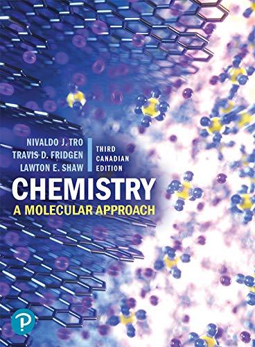 Chemistry: A Molecular Approach (3rd Canadian Edition)