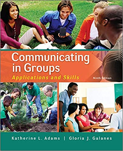 Communicating in Groups: Applications and Skills (9th Edition) - Orginal Pdf