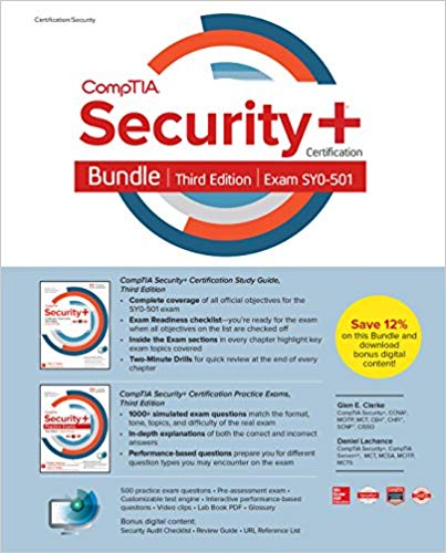 CompTIA Security+ Certification Bundle, Third Edition (Exam SY0-501) (3rd Edition)