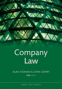 Company Law (Core Texts Series) (11th Edition) - Epub + Converted pdf